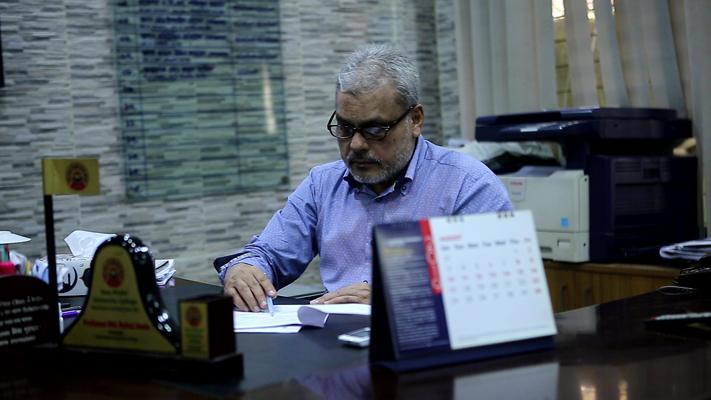 Photo of Professor MD. Ruhul Amin