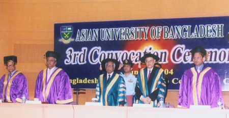 3rd Convocation of AUB