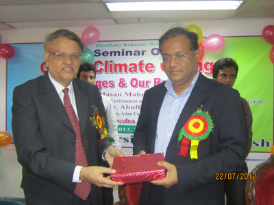 Seminar on global climete change