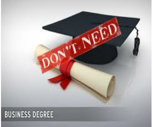 Earn a Business Degree