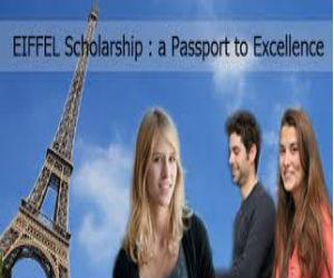 Eiffel Scholarship Program - France