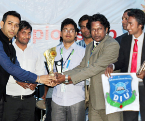 DIU students win int'l competition