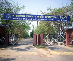SUST top among Bangladeshi universities