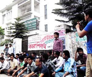 Students besieged NU regional office