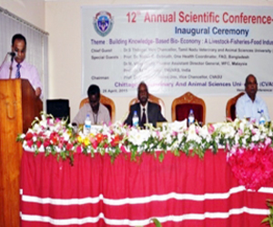 Scientific conference held at CVASU