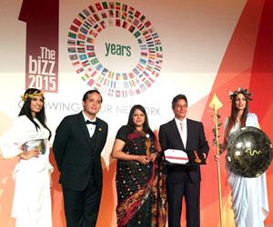 Ayesha Akter Dalia awarded BIZ Award