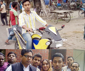 Munna's fuel-saving Galaxy Bike