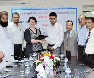 BUFT signed MoU with Goethe-Institut