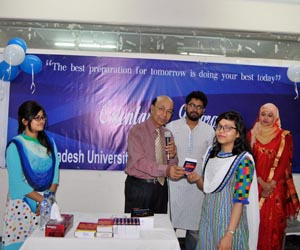 Fresher's reception held at BUBT