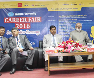 Career Fair 2016 at Eastern University