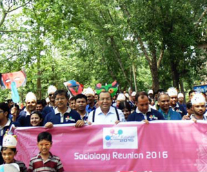 Sociology Reunion 2016 at SUST