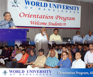 Orientation program at WUB