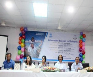 UNHCR campaign held at JnU