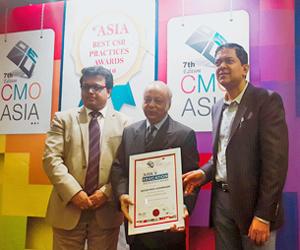 UAP chairman gets award