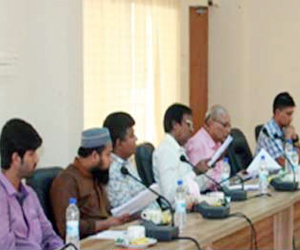 Discussion meeting held at JUST