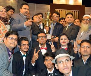 Primeasia Uni become champion